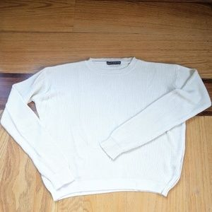 Brandy Melville Crew neck ribbed sweater